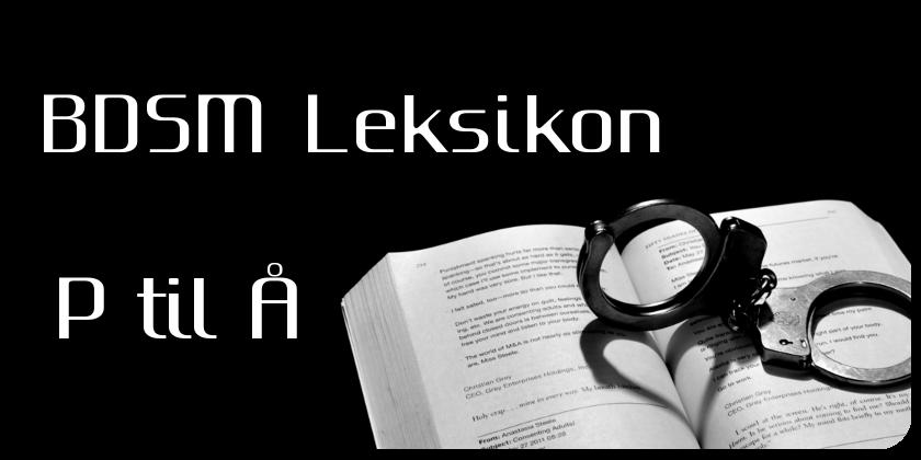 Ordbogen p til Å