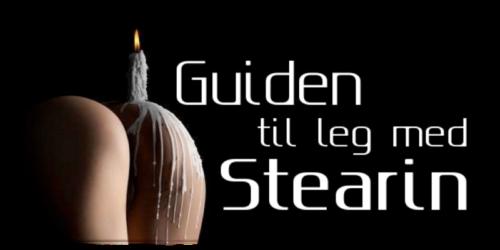Guiden til leg med stearin