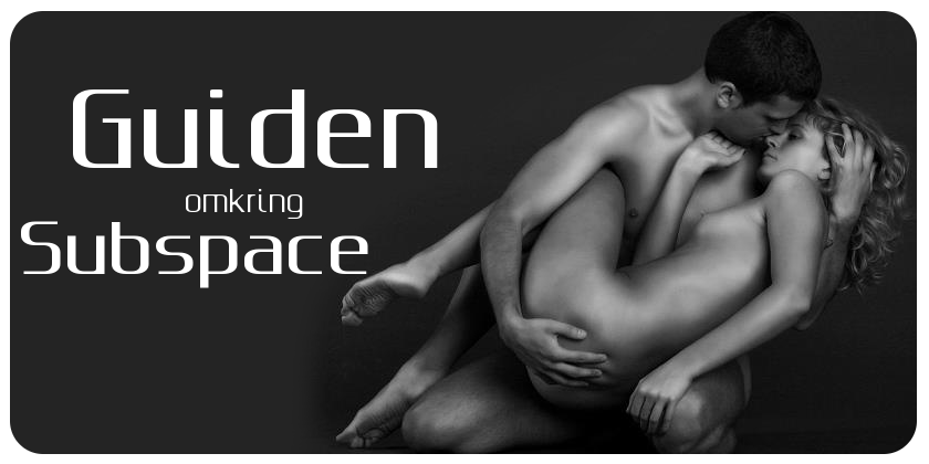 Subspace guiden