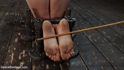 caning feet bastonade