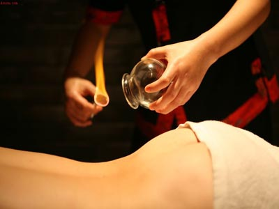 Fire cupping BDSM