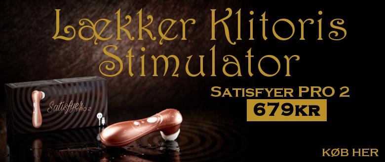 Satisfyer Pro 2 klitoris stimulator