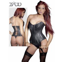 Læderkorset, der fremhæver de rigtige former så du er klar til den frække leg med sexlegetøj