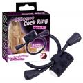 Vibro Cockring Silikone Penisring med Vibrator