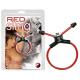 Red Sling Penisring, sammen sexlegetøj så bliver det en fæk aften
