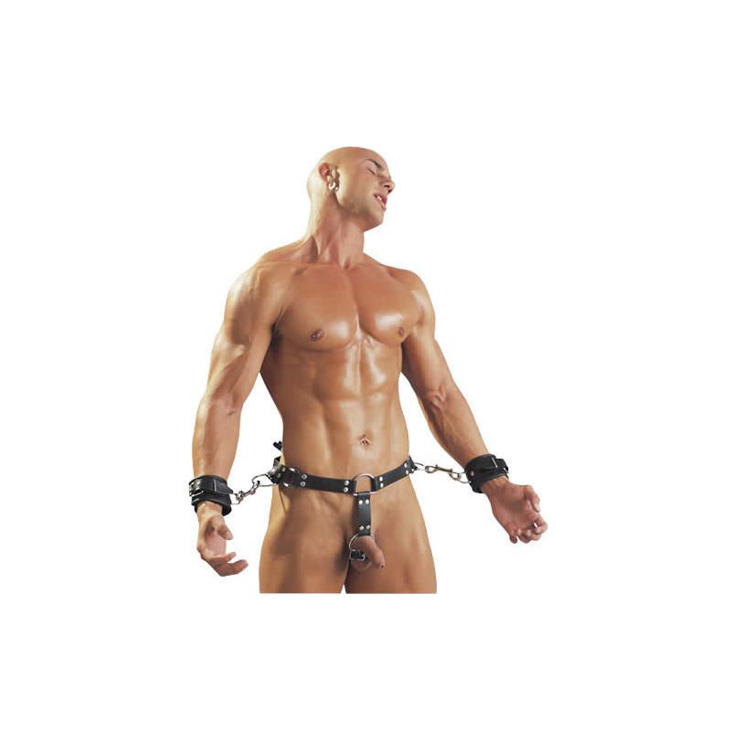 læder catsuit nøgen til massage