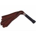 Vandbøffel pisken (Læder pisk af vandbøffel skind)