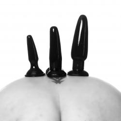 Butplug sæt til anal leg et rigtig godt start sæt fra din SM shop