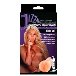 Jizz Stella Volt Vagina og Masturbator Pocket Pussy