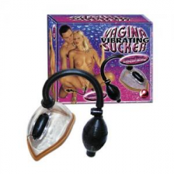 Vibrating Vagina Sucker - Vaginapumpe med Vibrator