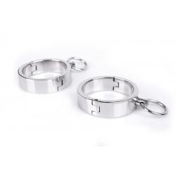 Deluxe Handcuffs i Stål