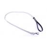 Metal Kæde med Læderhåndtag