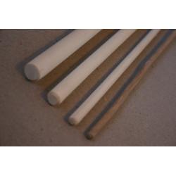 Råt rør kraftig tykt spanskrør som et kosteskaft til en god endefuld