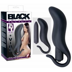 Black Velvet Silikone Analplug og Sleeve