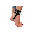 Leather Ankle Restraints with Heavy O-Ring