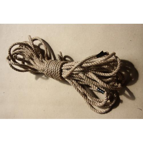BDSM Jute reb 5 mm bondage