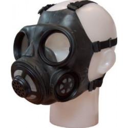 Gammel dansk gasmaske, maske til BC og gummi leg godt Sm udstyr