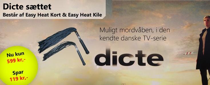 Dicte sættet, det mulige mordvåben i serien Dicte