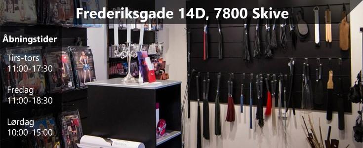 Vores butik i Frederiksgade