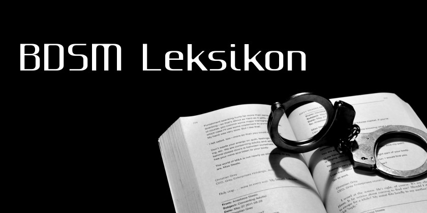 BDSM Ordbogen P til Å